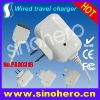 Travel charger for iPad--5V/2.1A