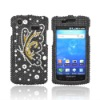 Trendy crystal cell phone case for Samsung Captivate i897