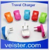 USB Power Travel Adapter Charger 10W For iPad iPhone WH