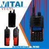 VT-UV2 UHF VHF Dual Band Licence free PMR 446 FM Transceiver