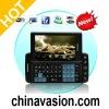 Vivistar 3.6 Inch Quad Band Dual SIM Slider Phone (WIFI, TV, QWERTY)