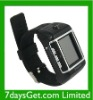 W08 Watch Cell Phone With Bluetooth & Camera & Waterproof - Black with Silver