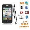 W302 3G mobile phone