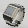 W600 watch phone with Triband +1.5 inch touchscreen + support 8G memory+SOS help metal chain