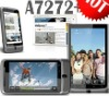 W7272 unlocked smartphone 3G Capacitive 3.5 Touch screen Dual SIM Android 2.3 WiFi GPS