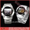W968 Single Sim Card Camera FM Touch Screen Wrist Watch Mobile Phone
