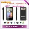 WCDMA,3G smart phone with dual camera mobile phone