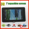 WG1107 7 inch Capactive Screen Android 2.3.4 WCDMA 3G GSM Dual SIM Mobile Phone