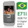 WIFI Dual Sim ISDB-T Digital TV Phone E71i with Qwerty