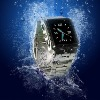 Waterproof Watch Cell Phone ( Fashion design Stainless Steel Waterproof watch mobile phone, W818 )