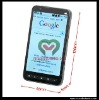 Wholesale 4.3 inch Touch Screen Android 2.2 Built-in GPS WiFi TV Dual SIM Cell Phone Star A2000