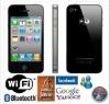 Wholesale GSM dual sim wifi telefonos i68 4g with high quality