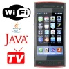 WiFi Java GSM TV Mobile Phone X6 WG6