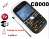WiFi Java TV Mobile Phone with Qwerty And Trackball (C8000)