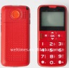 With large button,easy operate big display mobile/panic button phone/easy to use mobile phones uk