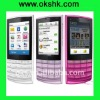 X3-02 Touch and Type mobile phone with 3G WiFi 5MP camera Bluetooth