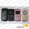 Z5 Tri SIM Tri Standby TV mobile phone with leather cover