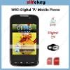 ZOHO W9D Dual sim Wifi DVB-T/ISDB-T Digital TV w9d