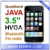 ZX-P168i 3.5 inch touch screen JAVA mobile phone