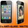 anti-glare matte screen protector for iphone 4S