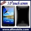 big 5.0 screen wifi GPS t8500 MTK6236 phone mobile