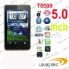 big screen mobile phones T8500