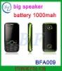big speaker big battery mobie phone