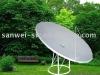 c band 210cm tv dish satellite antenna