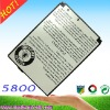 cell phone battery 5800 excellent technology mobile battery