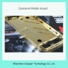 cherry diamond gold middle board for iphone 4s paypal is accepted