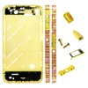 cherry for iphone 4 middle board diamond gold replacement paypal is accepted