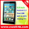 china 5 inch touch screen mobiles