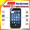 dual sim android gps mobile phone A9000 4.1inch Capacitive Touch Screen