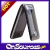 fashionable crystal filp cover + dual sim dual standby Cell phone