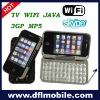 flip wifi tv cell phone t3000
