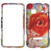 flower design cell phone case for Samsung M820