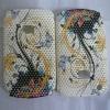 flower&mesh style phone PC shell for BlackBerry 8520