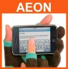 for Ipad gloves,knitted/Leather/Wool/Cotten touch gloves