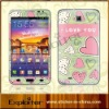 for SAMSUNG vinyl sticker with beautiful heart