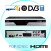 hd scart  mpeg4 DVB T tv receiver  TDT high definition HDMI out
