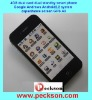 hot sell 3G Dual sim dual standby Smart phone A3 with android 2.2 and GPS