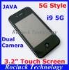 i9 5G Dual SIM Cell Phone Quad Band Dual Camera Support Greek Polish Hebrew