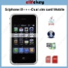 i9+++ dual sim cards dual standby,JAVA,bluetooth A2dp,handshaking,FM radio,ebook