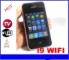 i9 wifi hot sale Quad band TV Wifi mobile phone