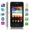 i9200 Black, Analog TV (PAL/NTSC/SECAM), JAVA Bluetooth FM function 4.0 inch Touch Screen Mobile Phone, Quad band, Network: GSM8