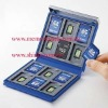 micro sdhc sdxc memory card case organizer holder plastic album