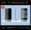 "mini (2.8"" touch screen ) i9 4g tv dual sim (sell fast)"