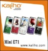 mini E71 Dual Sim Cards TV Bluetooth FM