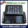mobie phone t5000 with wifi tv java2.0 slider java games for touch screen phone