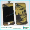 new colorful picture back cover full set for iphone 4g